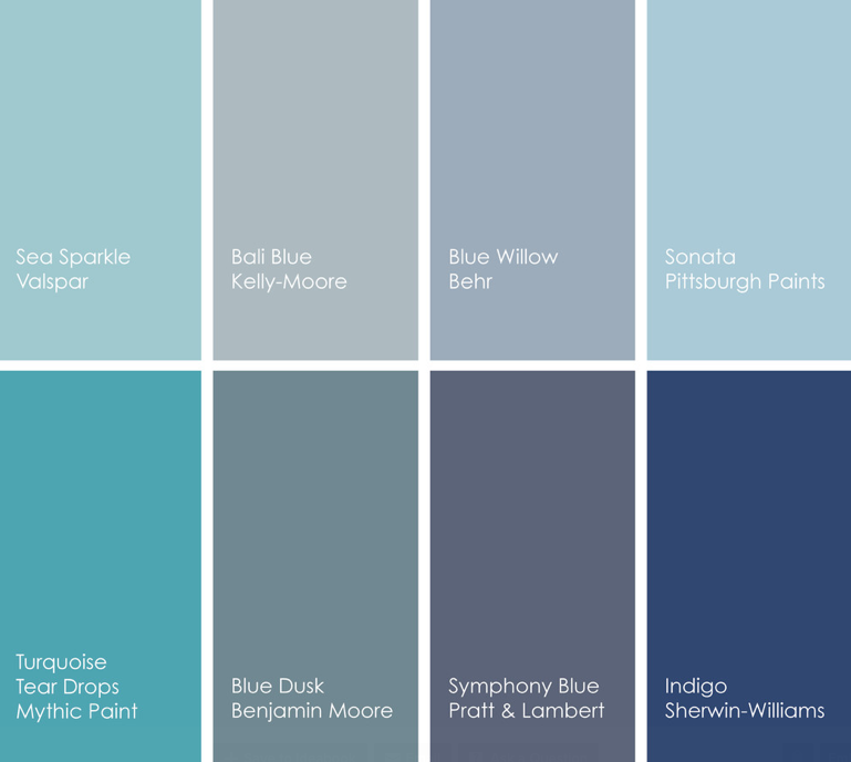 Gray Blue Paint Colors: Design With Lavish Color